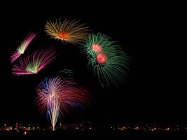 Fireworks IV by davidsant