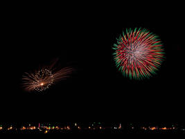 Fireworks VI by davidsant