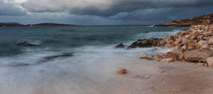 Morning waves by davidsant