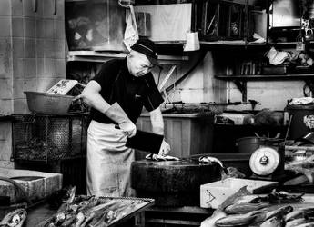 The Fishmonger by davidsant