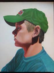 Self Portrait - Me by Nuwer-Designs