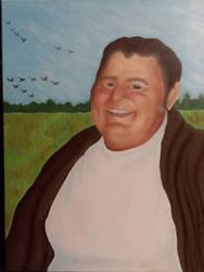 Portrait: Granddad  by Nuwer-Designs