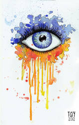 The Eye by taqiyayaya