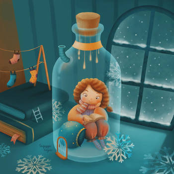 Winter Solitude by taqiyayaya