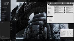 Skyrim Desktop WIP 12, March by yorgash