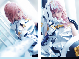 Final Fantasy XIII-2: Lightning by JoviClaire