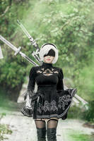 NieR Automata: 2B [2] by JoviClaire