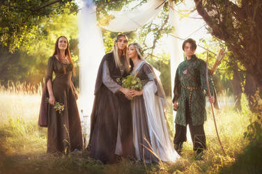 Elven wedding by Ryzhervind
