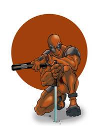 Deadpool by BronxArtist