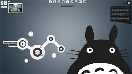 Totoro Desktop by Animedreamer240