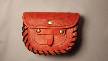 D style leather pouch by PracticalApplication