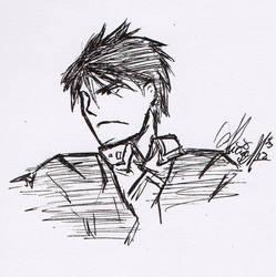 Roy Sketch by ajbluesox