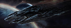 spacecraft by landobaldur