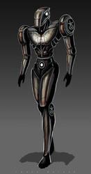 android knight by landobaldur