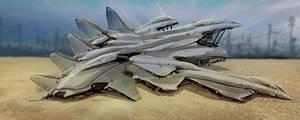 landing is easy, in the desert by landobaldur