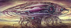 ufo by landobaldur