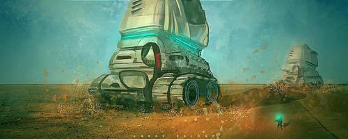 desert tanks by landobaldur