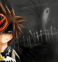 Halloween Sora by hibikio