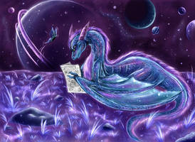 Moon. Shine. Dragon by hibikio