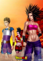 Saiyans of the sixth universe by GGG85