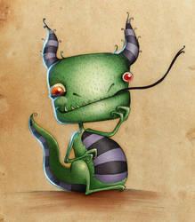 Dragon by Sara Fradella by GavinMichelli
