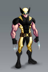 Wolverine: New Costume by GavinMichelli