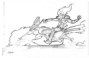 Ghost Rider by GavinMichelli