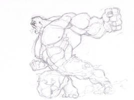 Hulk Smash by GavinMichelli