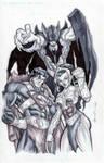 Justice League of Eternia by GavinMichelli