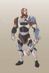 Cyborg-At-Arms by GavinMichelli