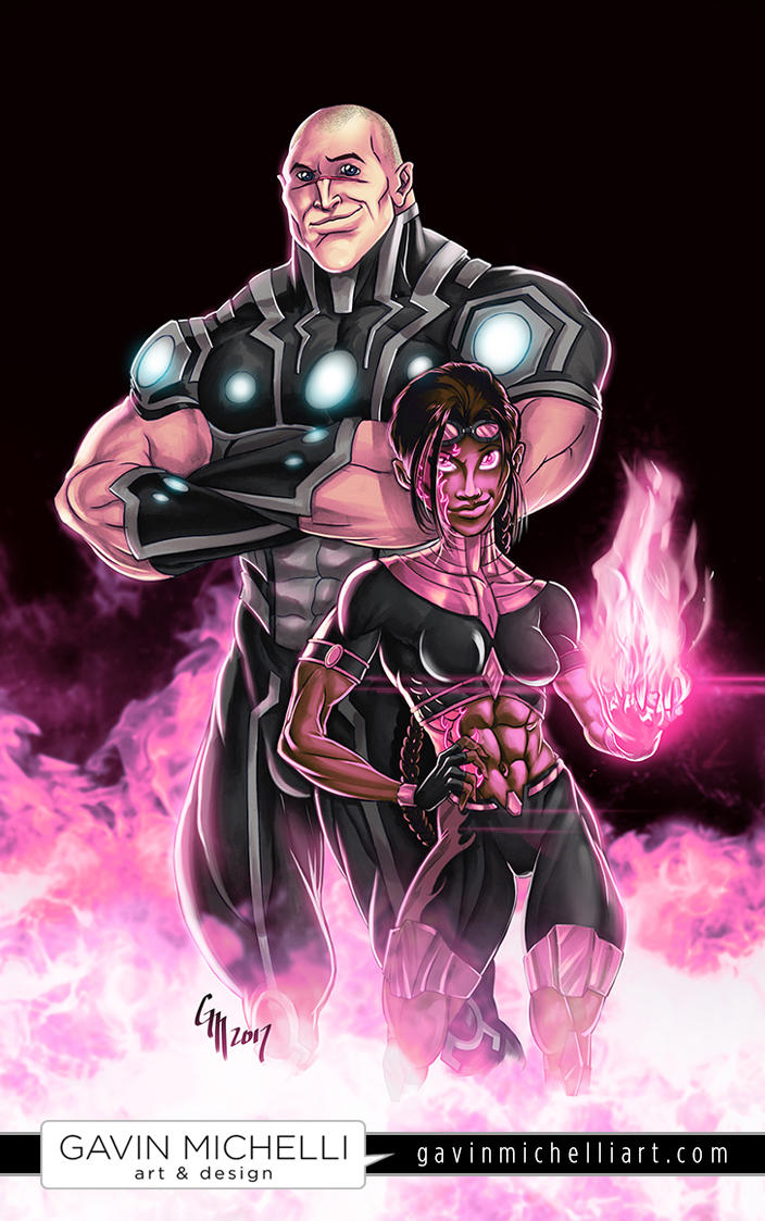 Sentinels - Power Couple by GavinMichelli