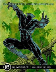 Black Panther by Roland Paris by GavinMichelli
