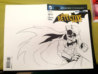 Batman Sketch Cover by GavinMichelli