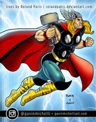 Thor by Roland Paris by GavinMichelli