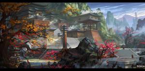 temple by gliulian