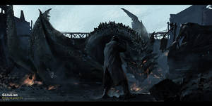 dragon by gliulian