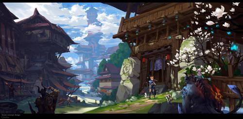 Novice Village by gliulian