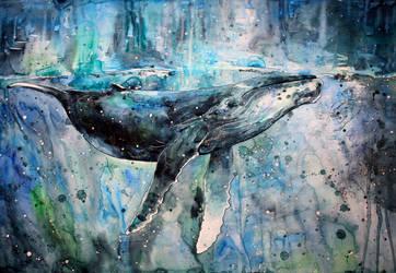 whale by ElenaShved