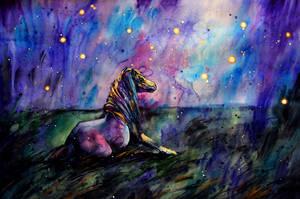starlit night by ElenaShved
