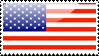 American Flag Stamp by xxstamps