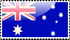 Australian Flag Stamp by xxstamps