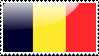 Belgian Flag Stamp by xxstamps