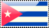 Cuban Flag Stamp by xxstamps