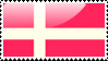 Danish Flag Stamp by xxstamps