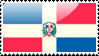 Domincan Republic Flag Stamp by xxstamps