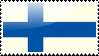 Finnish Flag Stamp by xxstamps