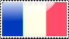 French Flag Stamp by xxstamps