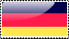 German Flag Stamp by xxstamps