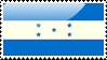 Flag of Honduras Stamp by xxstamps