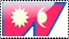 Flag of Nepal Stamp by xxstamps